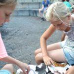 zelf eten maken op het kampvuur bushcraft zomerkamp