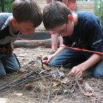 kampvuur maken bushcraftkamp
