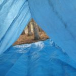 tent bouwen bushcraft zomerkamp