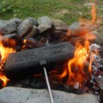tosti bakken bushcraft zomerkamp