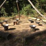 vuurschalen bushcraft zomerkamp