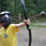 Boogschieten bushcraft kamp