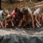 bivak maken bushcraft zomerkamp