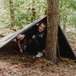 Bivak bushcraftkamp
