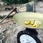 goud zoeken op kinderkamp