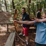boogschieten bushcraft zomerkamp