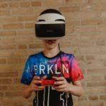 VR gamen tijdens gamekamp