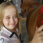 pony pimpen tijdens ponykamp