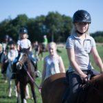 buitenrit maken ponykamp