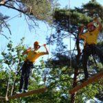 klimmen met survival zomerkamp