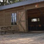 recreatie ruimte buiten zomerkamp