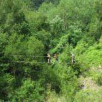 hoge touwbrug survival zomerkamp ardennen