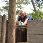 zomerkamp bos bouwdorp