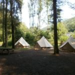 Tentenkamp Ardennen zomerkamp Belgie