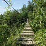 touwbrug survivalkamp Ardennen België