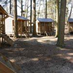Blokhutten groepsverblijf zomerkamp