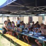 Op zomerkamp en eten