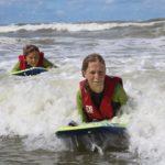 Bodyboarden op Surfkamp